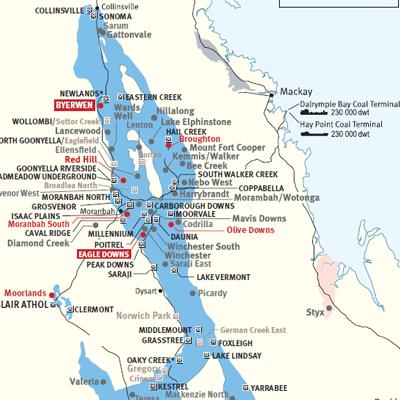Resource maps – Qld Mining & Exploration Investment Resources | QUREX
