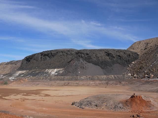 Broken Hill slag heap